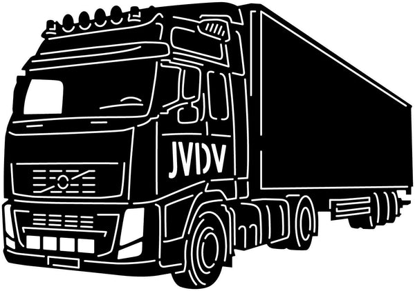 Trucks Custom JVDV - DXF files Cut Ready CNC Designs -DXFforCNC.com