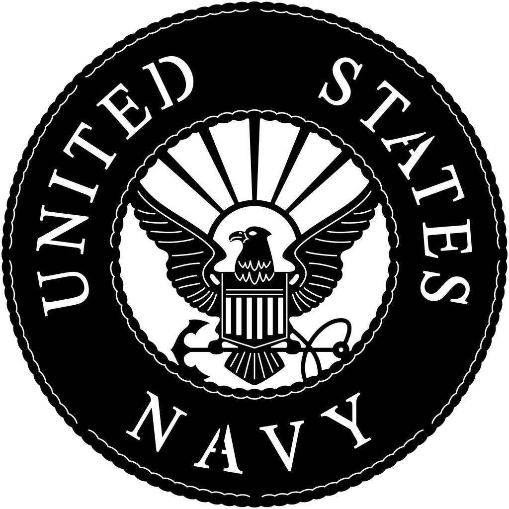 US Navy Eagle Badge-DXFforCNC.com-DXF Files cut ready cnc machines