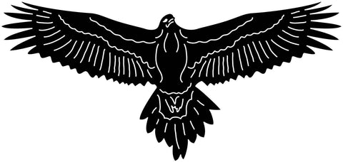 Australian Wedge Tailed Eagle-DXFforCNC.com-DXF Files cut ready cnc machines