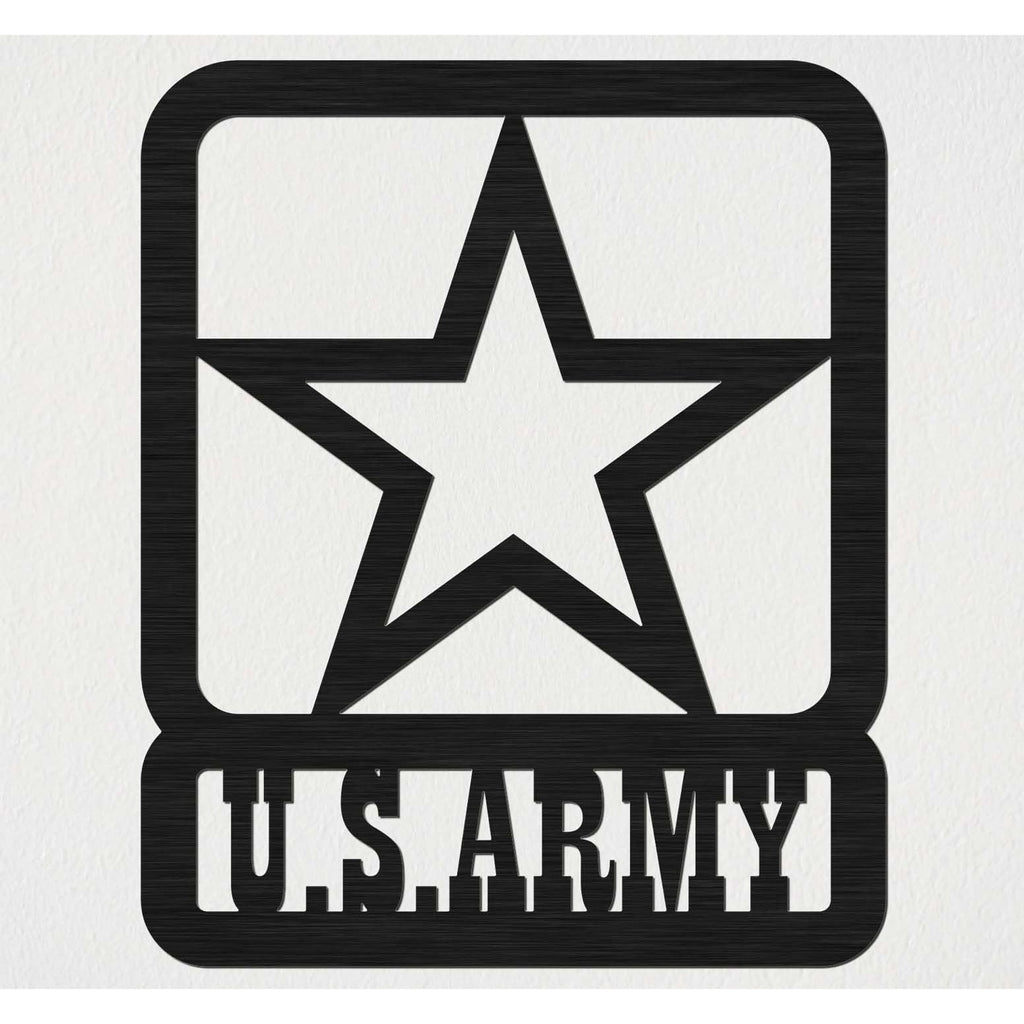 US Army Star Badge-DXFforCNC.com-DXF Files cut ready cnc machines
