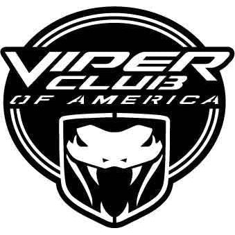 Viper Clup of America Logo for Dodge viper-DXFforCNC.com-DXF Files cut ready cnc machines