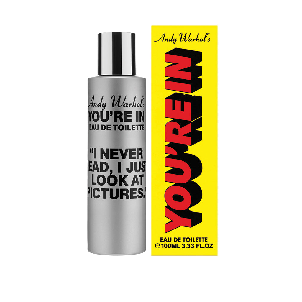 COMME des GARCONS Parfums x Andy Warhol You're In (I NEVER READ)