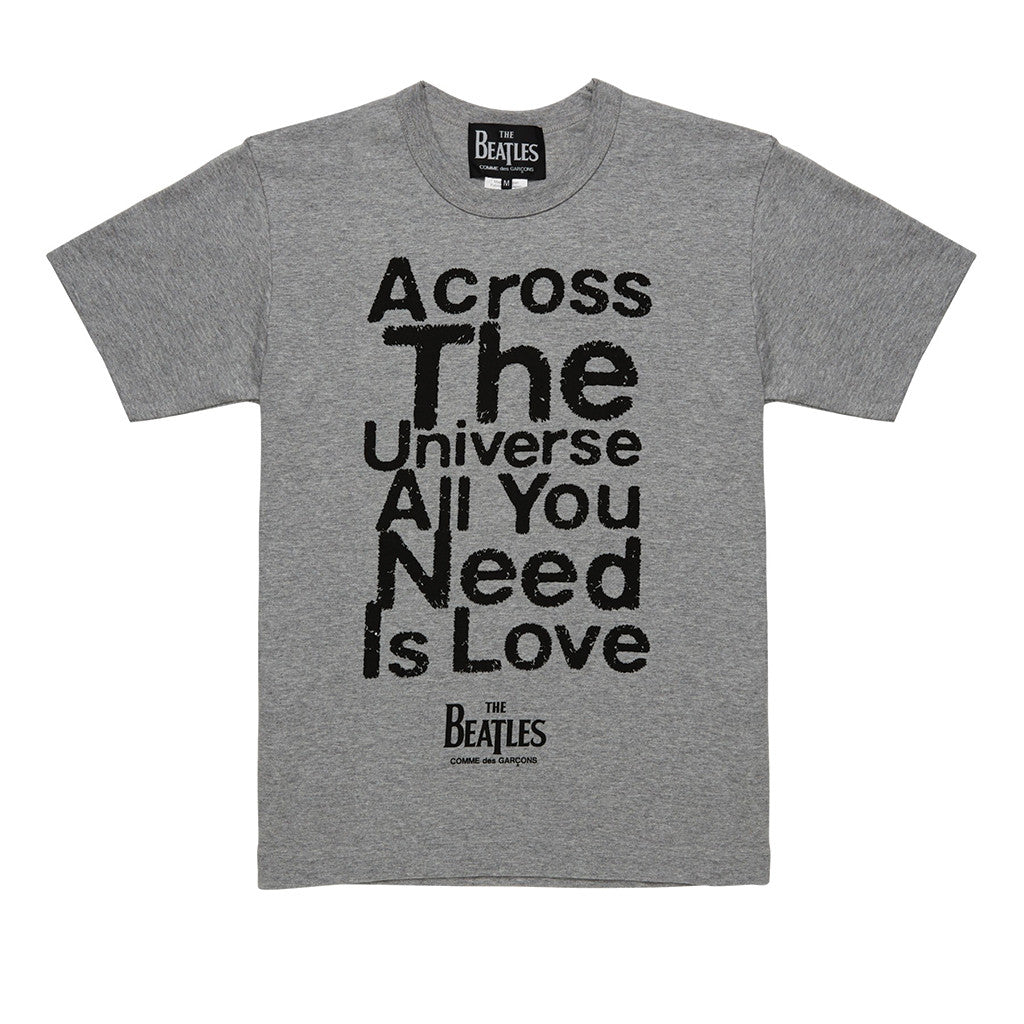 All You Need Is Love T-Shirt Grey