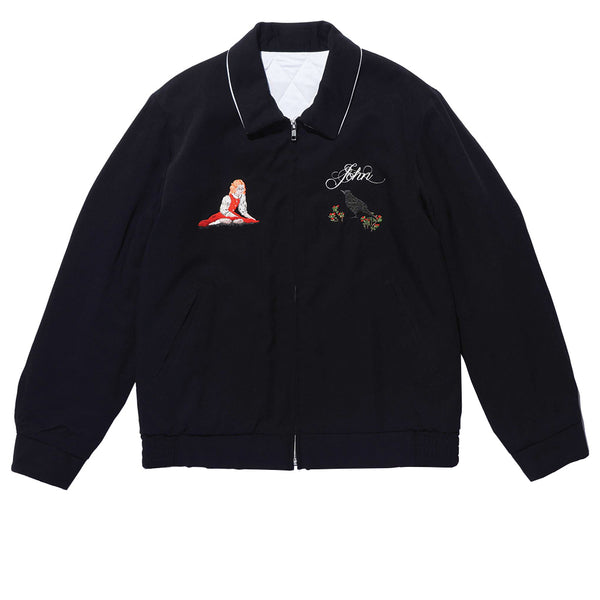 JohnUNDERCOVER Embroidered Jacket Black