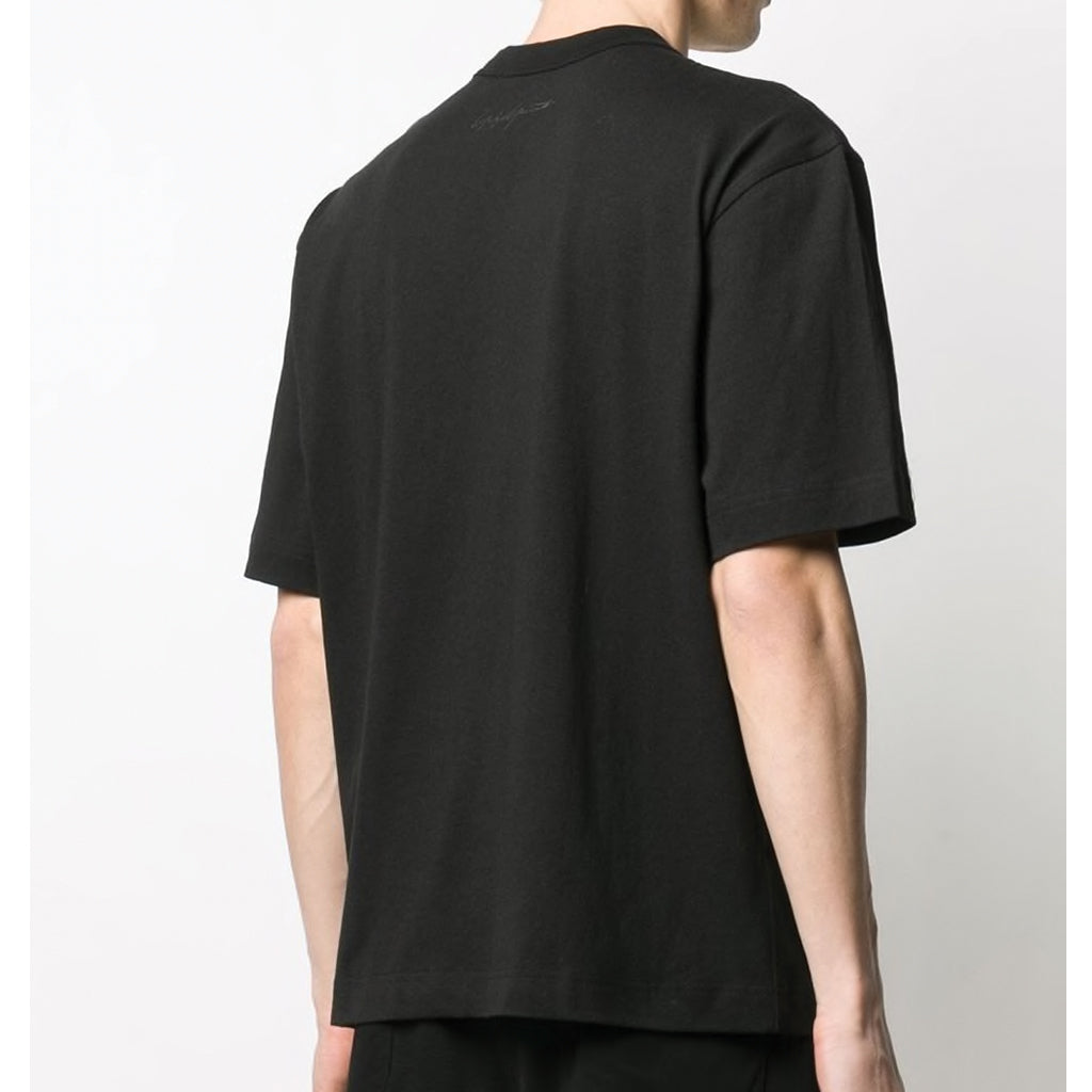 adidas Y-3 Yohji Yamamoto Alley Print T-Shirt in Black for Men