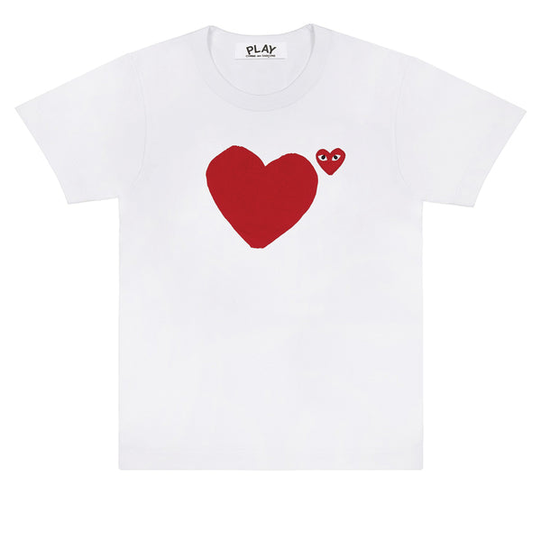 Backside Heart T-Shirt White