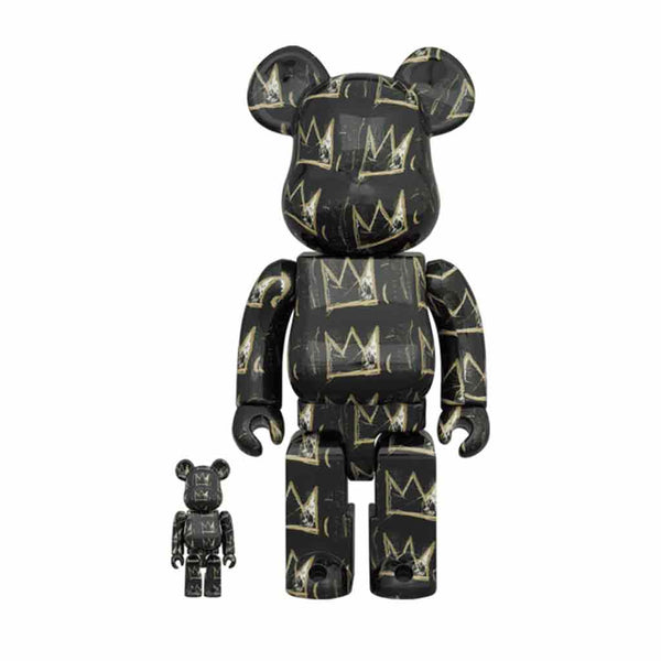 Medicom Toy BE@RBRICK Jean-Michel Basquiat #8 400% 100% set