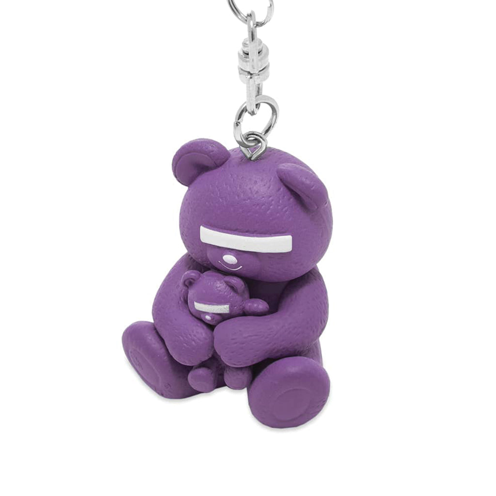 Medicom Toy x UNDERCOVER Bear Keychain Purple