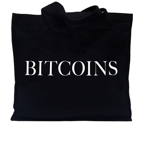 IDEA Books Bitcoins Tote Bag