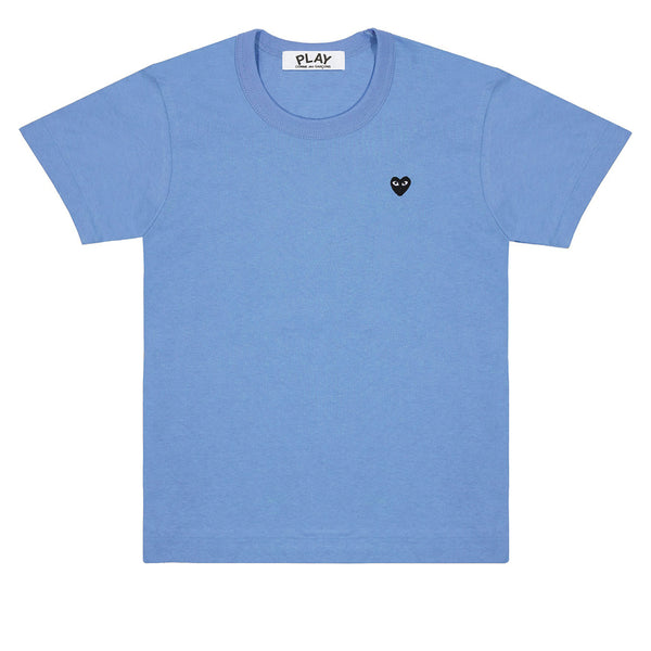 Colour Series Black Heart T-Shirt Blue