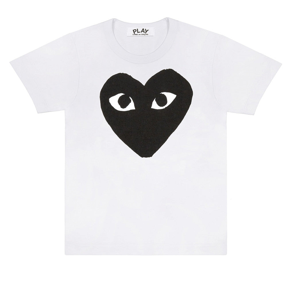 COMME des GARCONS PLAY Black Heart T-Shirt