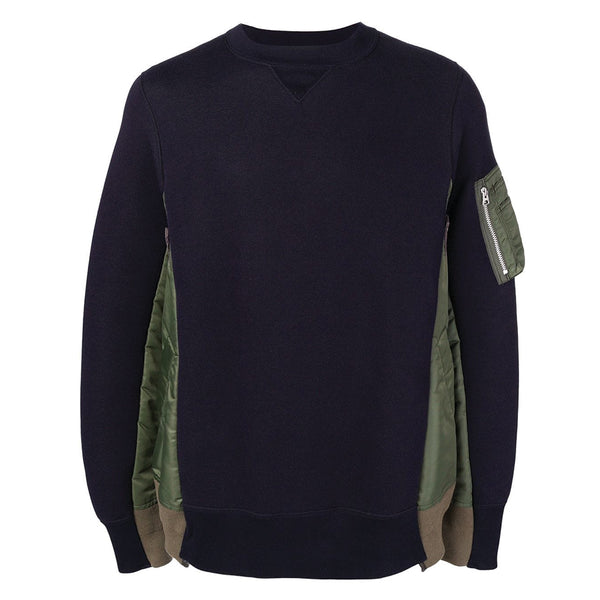 Sponge Sweat Pullover Navy