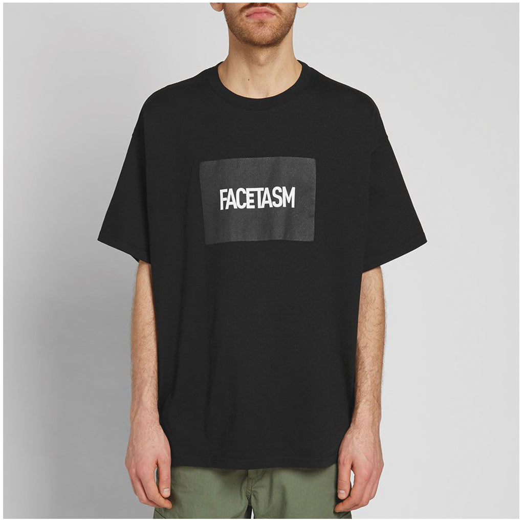 VIER Antwerp x Facetasm Boxlogo T-Shirt Black