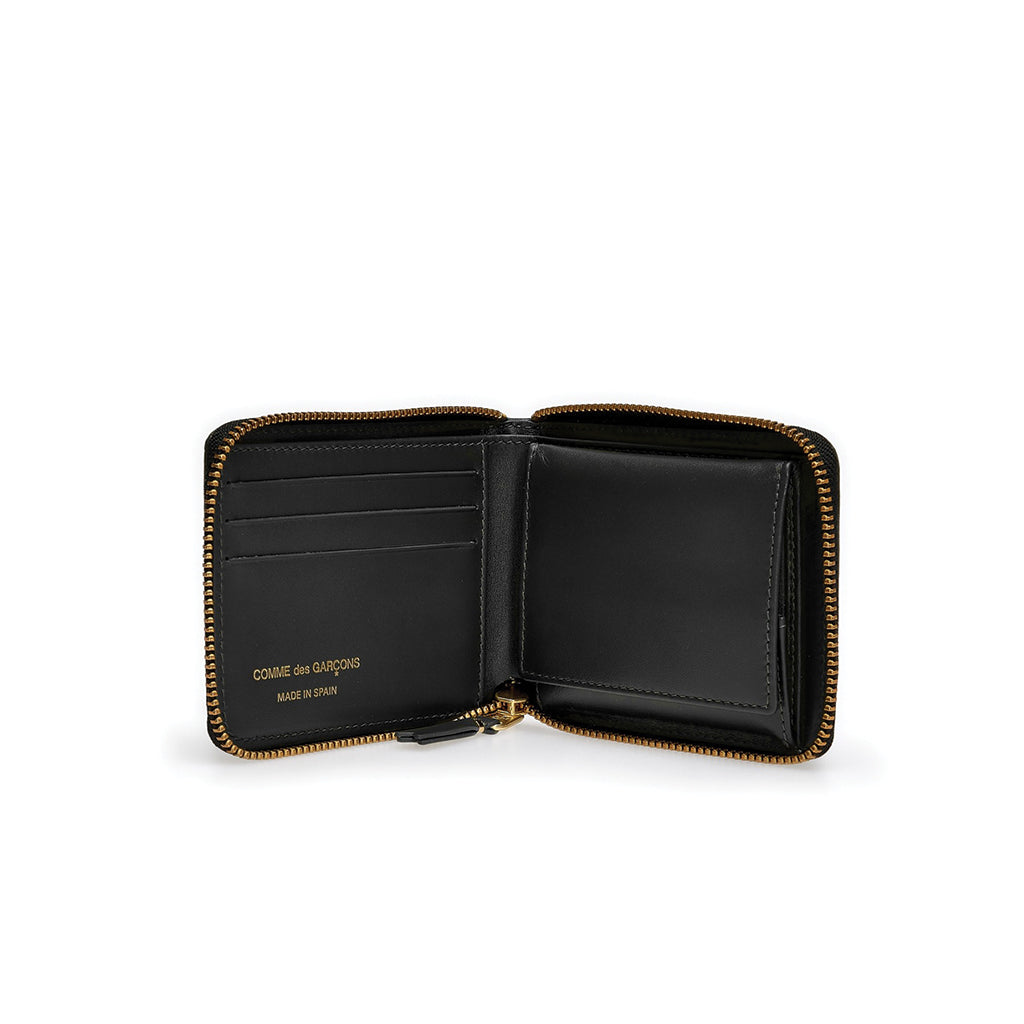 Brick Line Full Zip Wallet Black