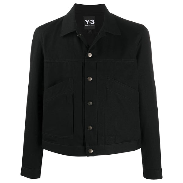 adidas Y-3 Yohji Yamamoto Canvas Workwear Jacket for Men