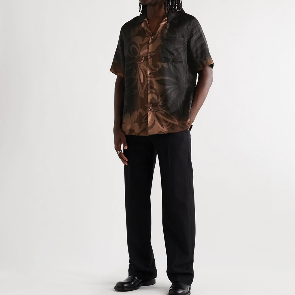 Dries van Noten Carltone Shirt Black