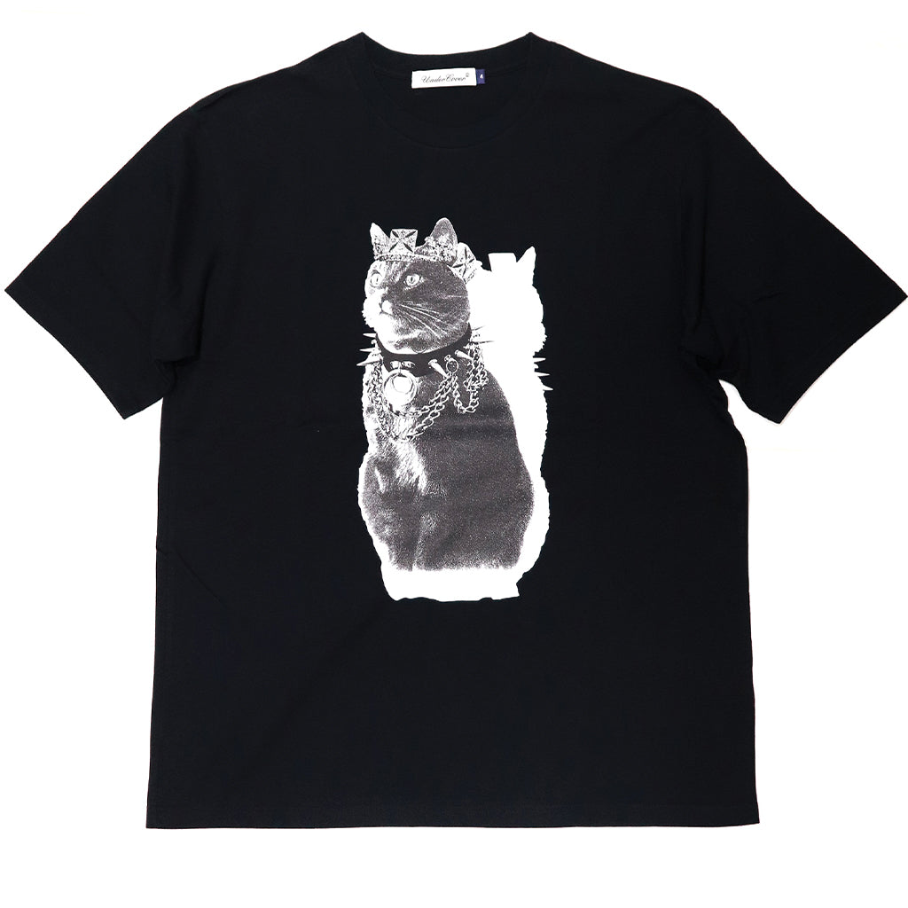 UNDERCOVER Jun Takahashi Cat Queen Graphic T-Shirt Black UCZ4802