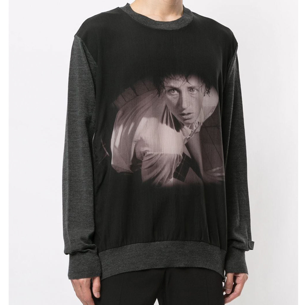 x Cindy Sherman Photo Knitted Pullover