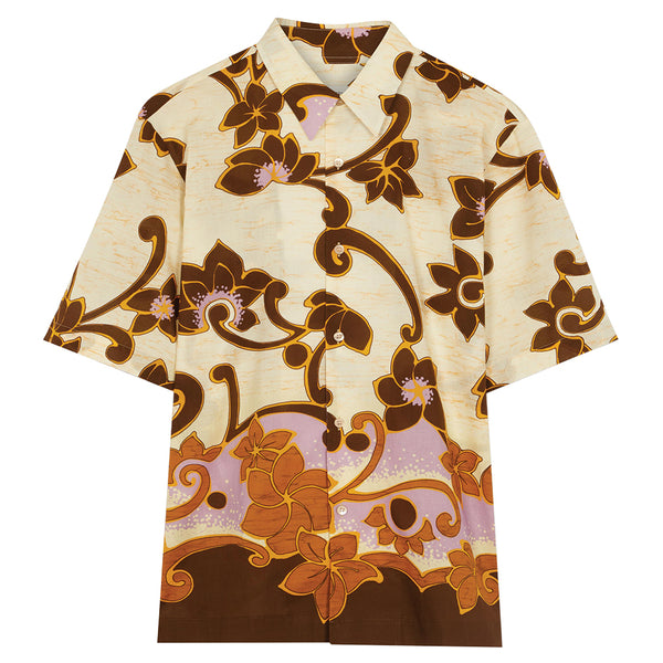 Dries van Noten Clasen Shirt Brown