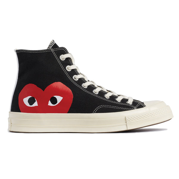 COMME des GARCONS PLAY x Converse Chuck Taylor All Star '70 High Black Rotterdam Nederland Buy Online