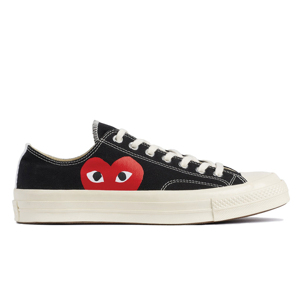 60f1a8ec5456 COMME des GARCONS PLAY x Converse Chuck Taylor All Star  70 Low ...
