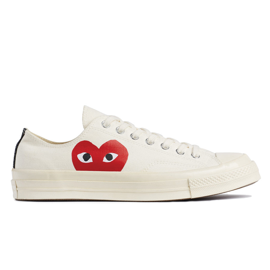 comme des garcons play x converse chuck taylor all star. Black Bedroom Furniture Sets. Home Design Ideas