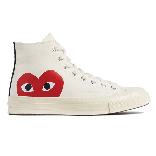 COMME des GARCONS PLAY x Converse Chuck Taylor All Star '70 High White Rotterdam Nederland Buy Online