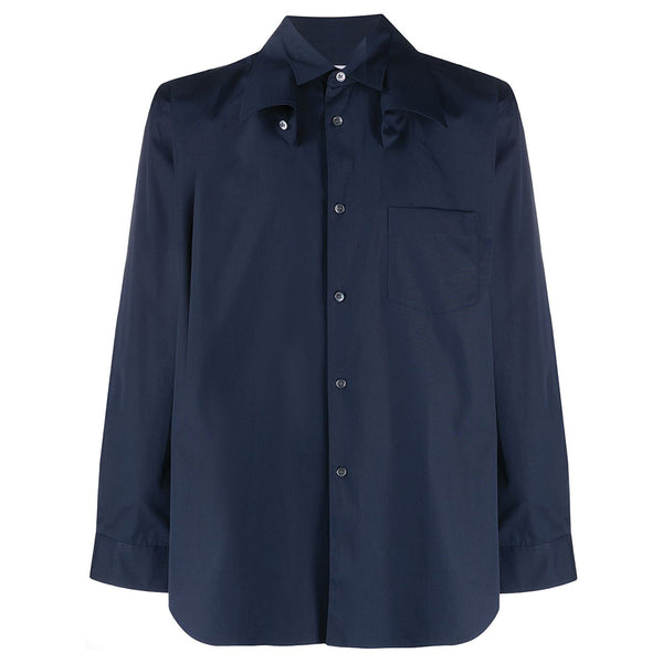 COMME des GARCONS SHIRT Double Collar Shirt Navy