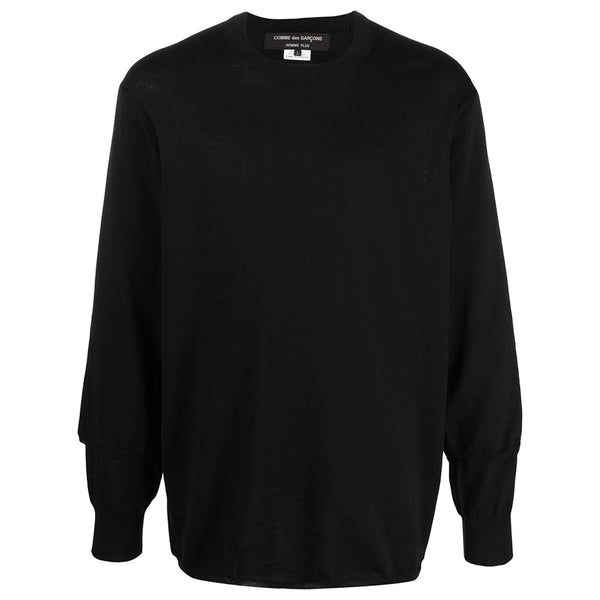 COMME des GARCONS Homme Plus Double Cuff Knitted Jumper PF-N026-051