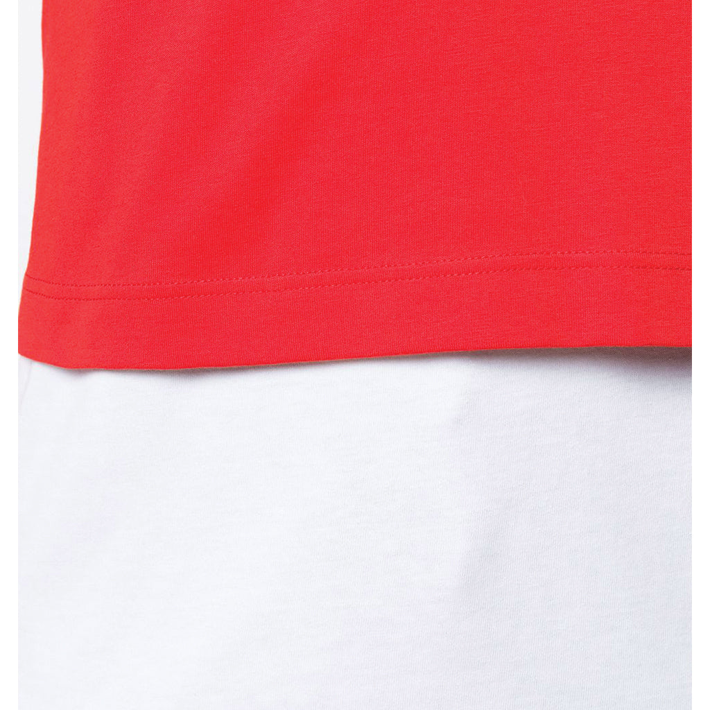 COMME des GARCONS SHIRT Double T-Shirt Red / White W27113