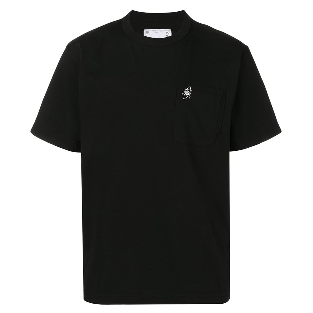 x Dr. Woo Embroidered T-Shirt Black