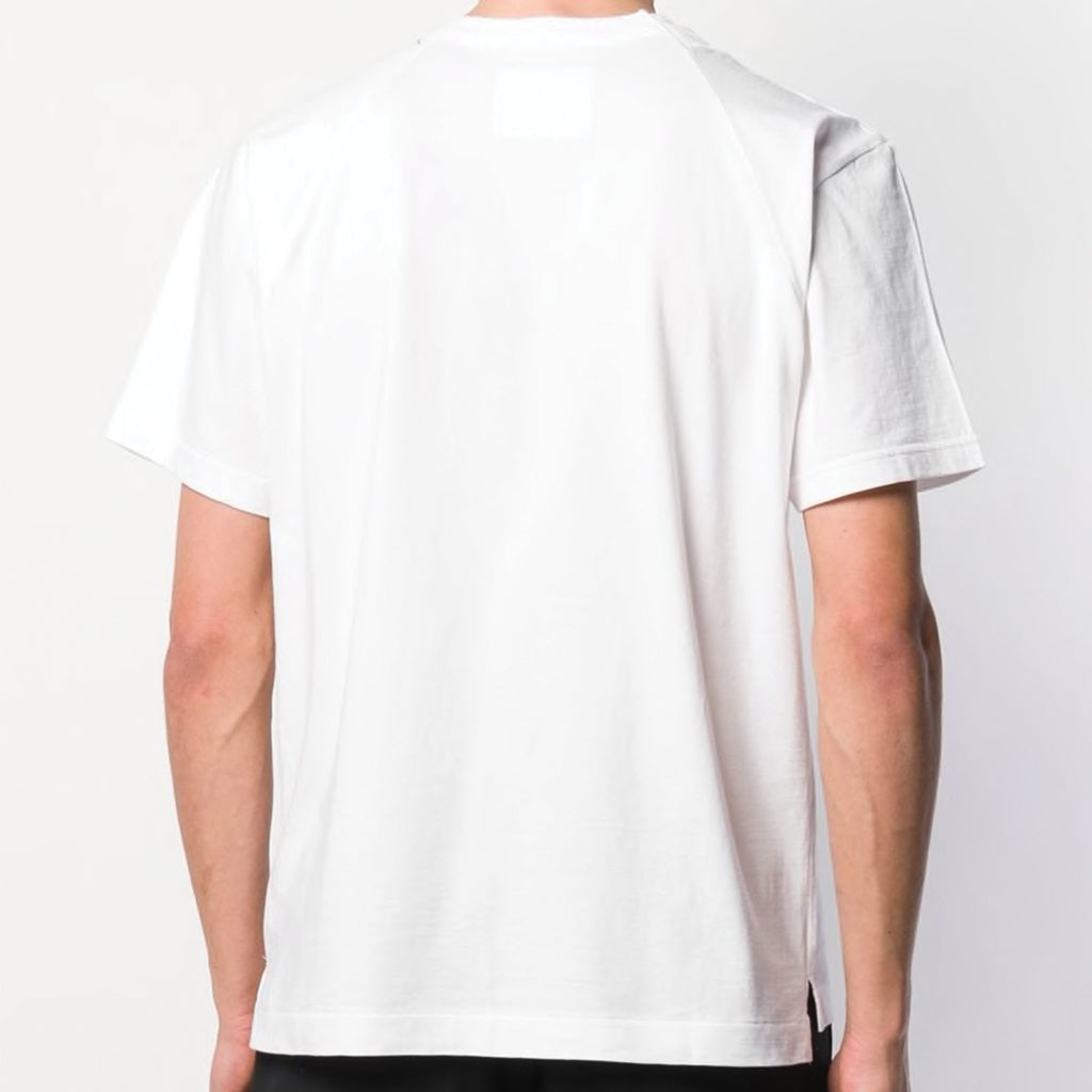 sacai x Dr. Woo Embroidered T-Shirt White
