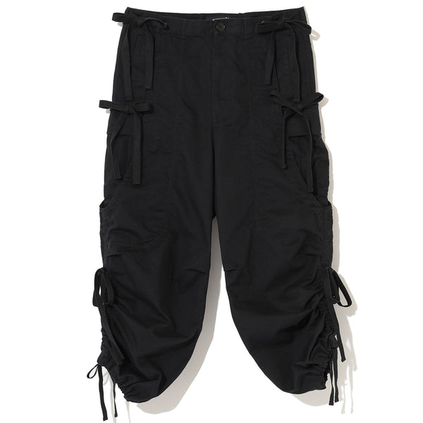 UNDERCOVER Jun Takahashi Drawstring Woven Pants Black UCZ4506
