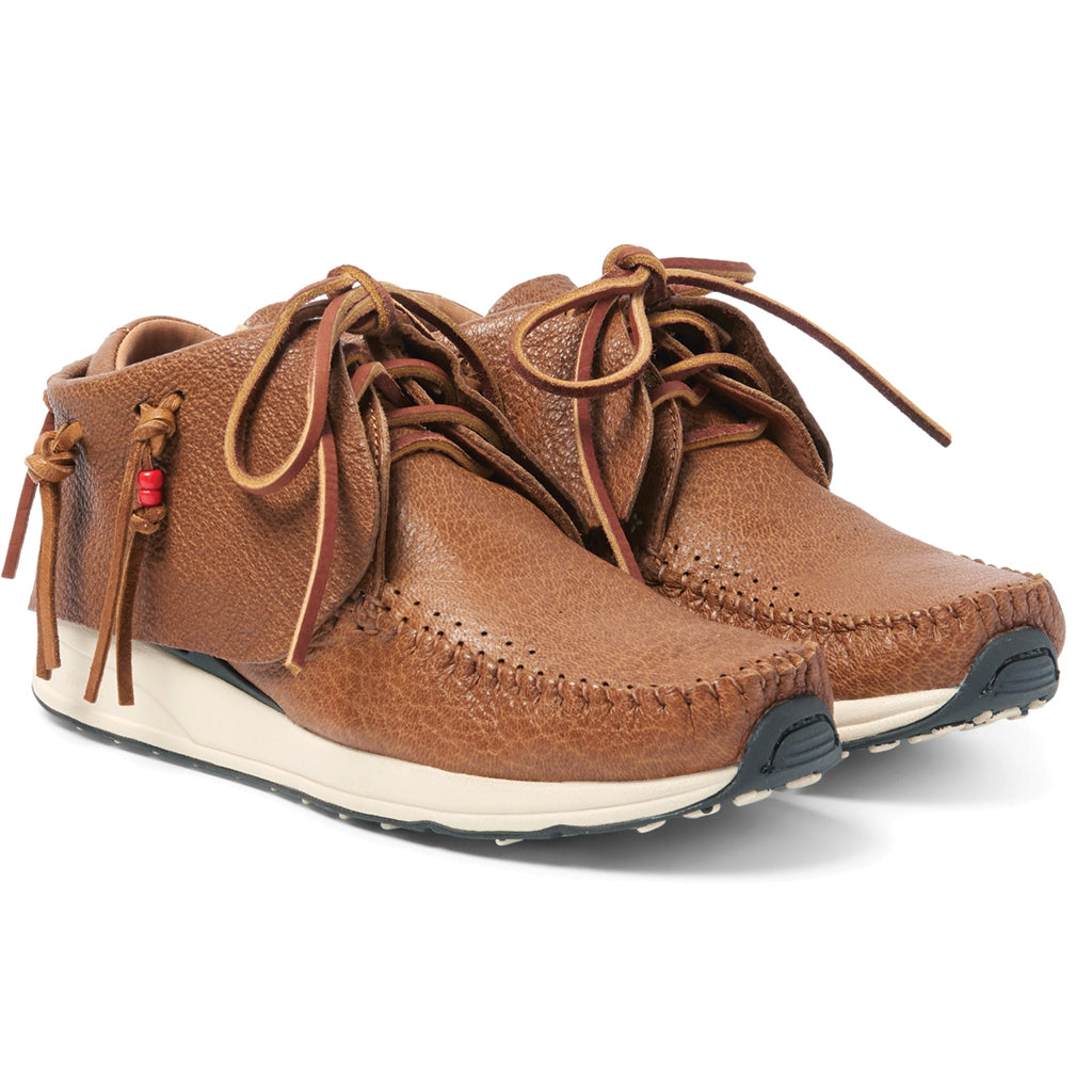 visvim Red Deer Leather FBT Brown