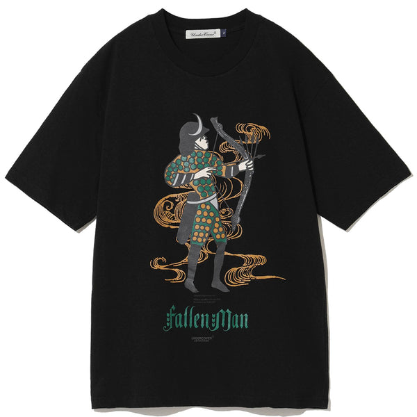 UNDERCOVER Jun Takahashi Fallen Man Warrior T-Shirt Black