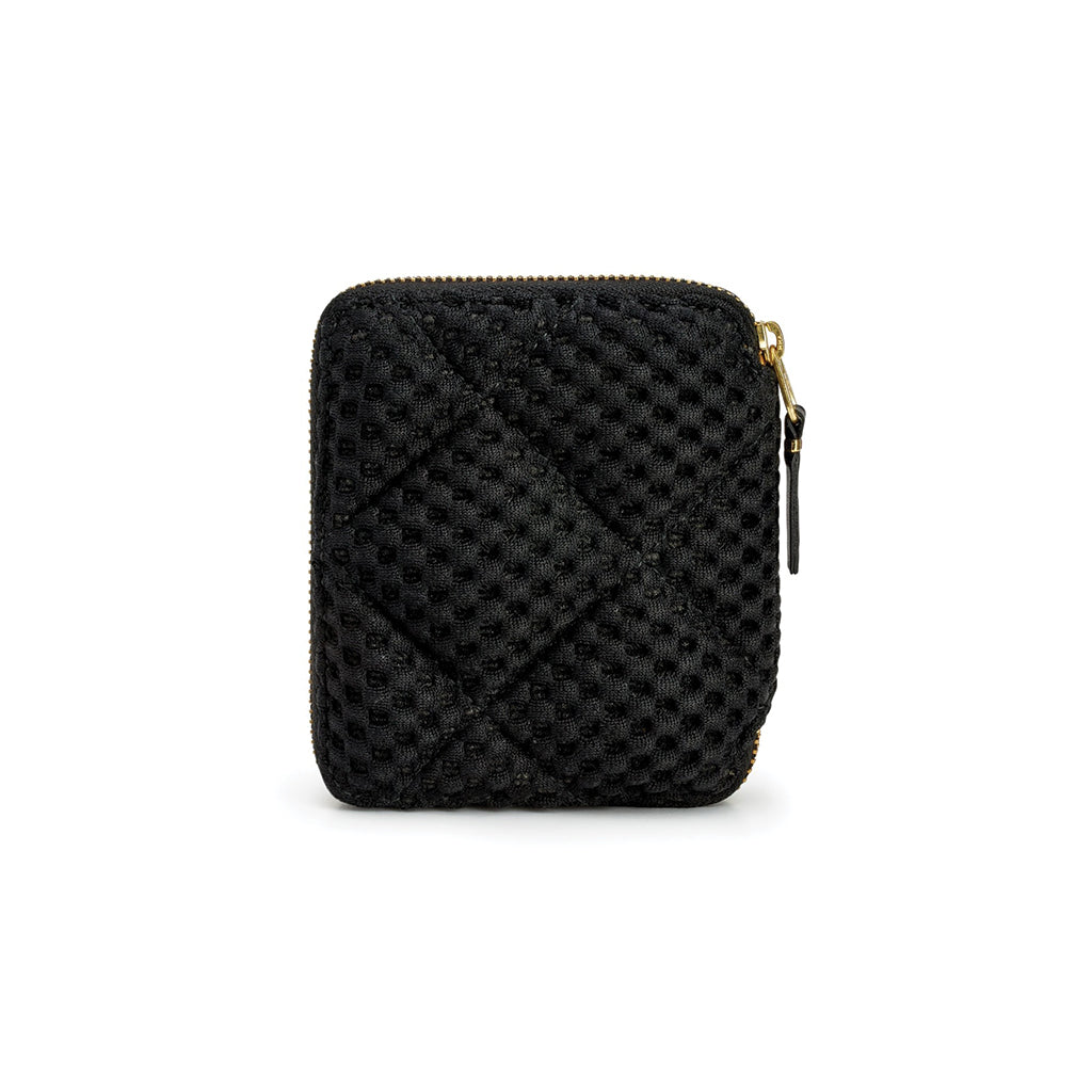 COMME des GARCONS WALLETS Fat Tortoise Wallet SA2100 Black