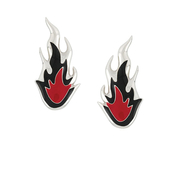 AMBUSH Jewellery Flame Earrings