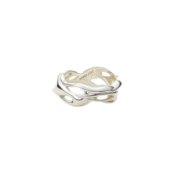 Flame Ring Silver