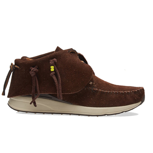 visvim FBT Suede Dark Brown