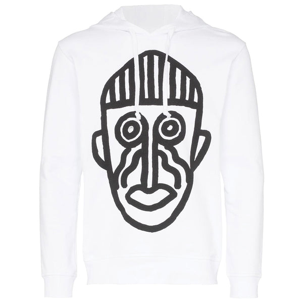COMME des GARCONS SHIRT Mask Hooded Sweatshirt