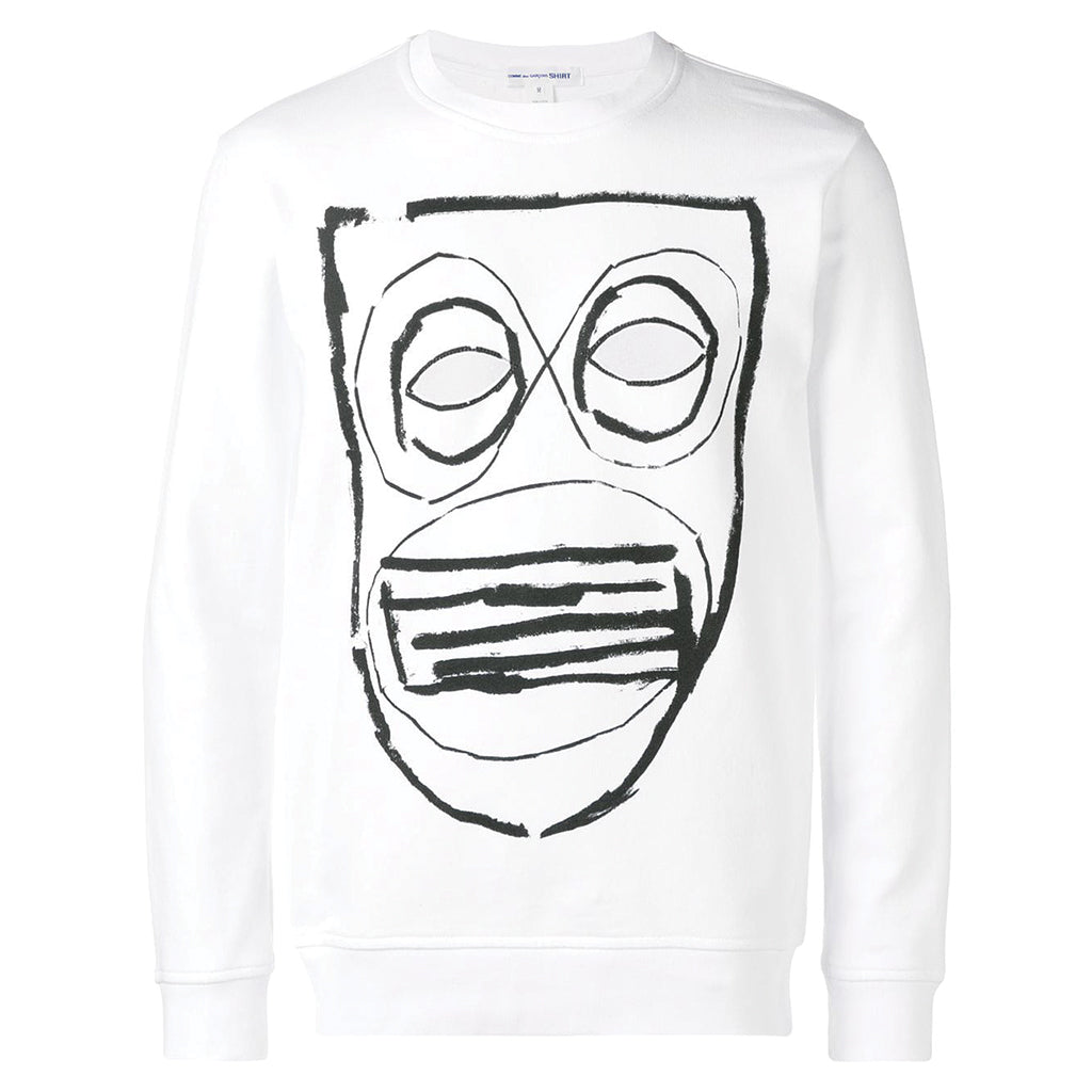 COMME des GARCONS SHIRT Mask Frontside Sweater