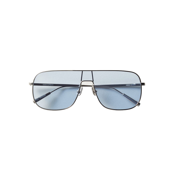 Ambush Jewellery Full Frame Sunglasses Silver and Blue