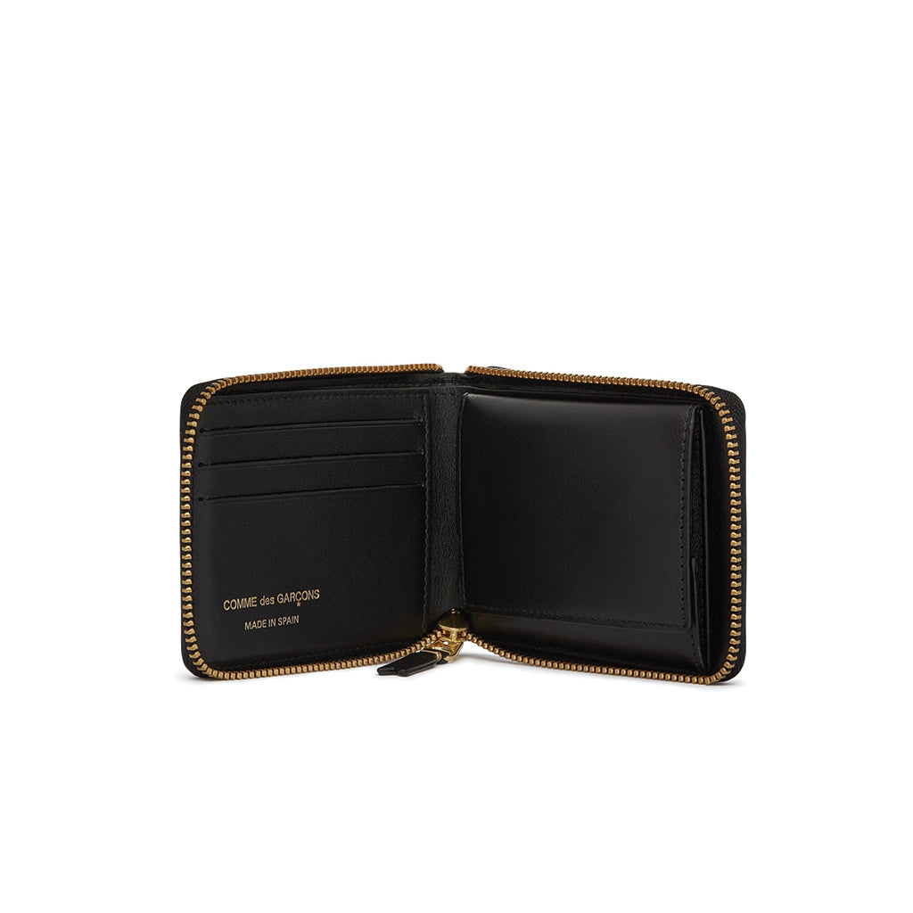 COMME des GARCONS Wallets Classic Full Zip Wallet Black