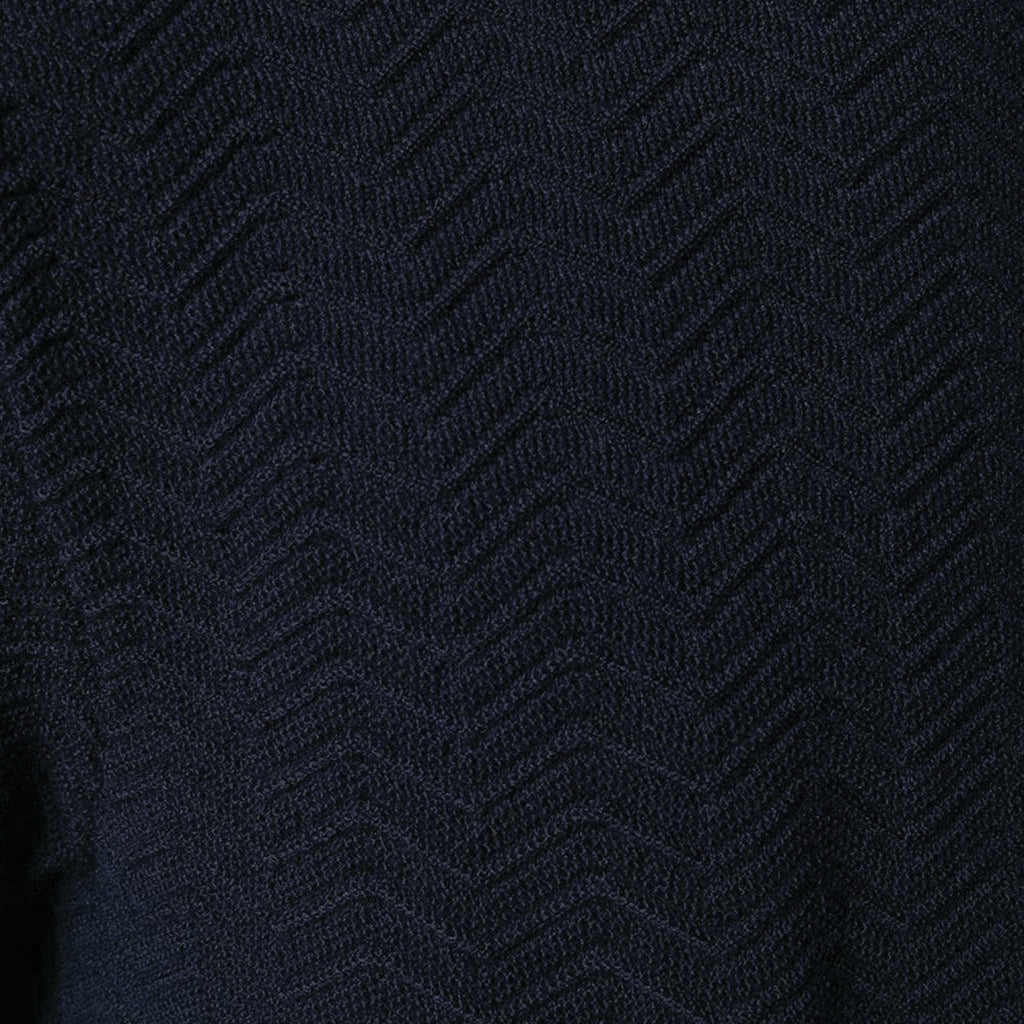 COMME des GARCONS SHIRT Fully Fashioned Knit Navy