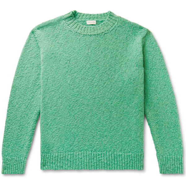 Dries van Noten Marvyn Knitted Sweater Mint Green