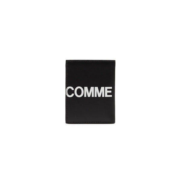 COMME des GARCONS WALLETS CdG Huge Logo Wallet SA0641HL Black