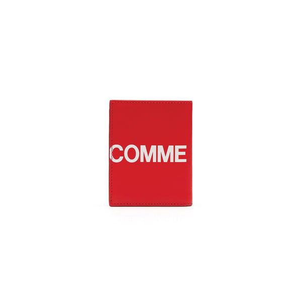 COMME des GARCONS WALLETS CdG Huge Logo Wallet SA0641HL Red