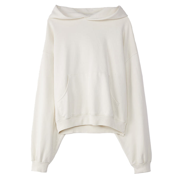 ERL Hooded Sweatshirt Cream