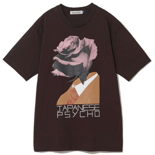 UNDERCOVER Jun Takahashi Japanese Psycho T-Shirt Brown UCY3808