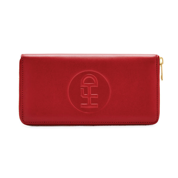 Honey Fucking Dijon Media Storage Leather Wallet Red